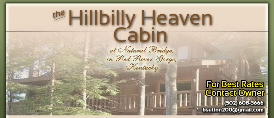 2br Cabin Rental Kentucky Mountains
